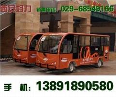 西安H-11 电动观光车 陕西11座电瓶游览车