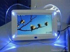 供應7寸蘋果帶燈數碼相框