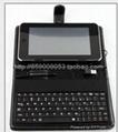 7寸USB键盘皮套适合MID平板电脑EPAD