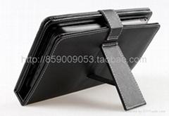 7寸5PIN迷你USB鍵盤皮套EPAD MID通用