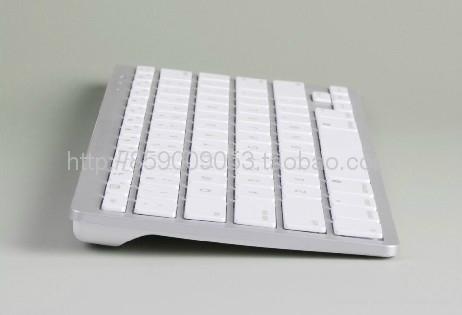 IPAD白色苹果无线蓝牙键盘78键干电池续航 1