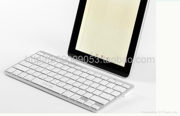 IPAD白色苹果无线蓝牙键盘78键干电池续航 3