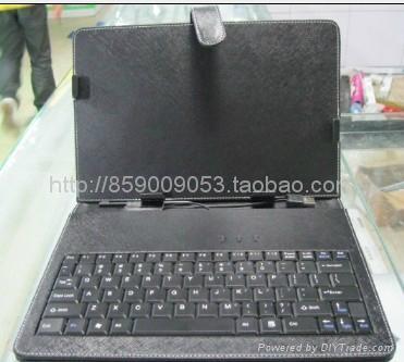 7寸USB键盘皮套适合MID平板电脑EPAD 5