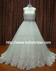 newly gorgeous wedding gown 2011 bridal dresses 1107