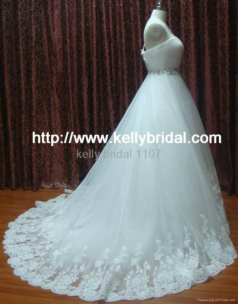 newly gorgeous wedding gown 2011 bridal dresses 1107 3