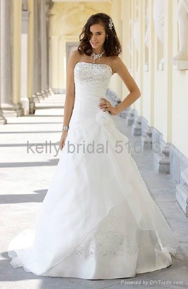 modern embroidered wedding gown wedding dress 51043 1