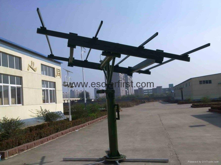 2kw dual axis solar tracker sf dast 2kw solar first. Black Bedroom Furniture Sets. Home Design Ideas
