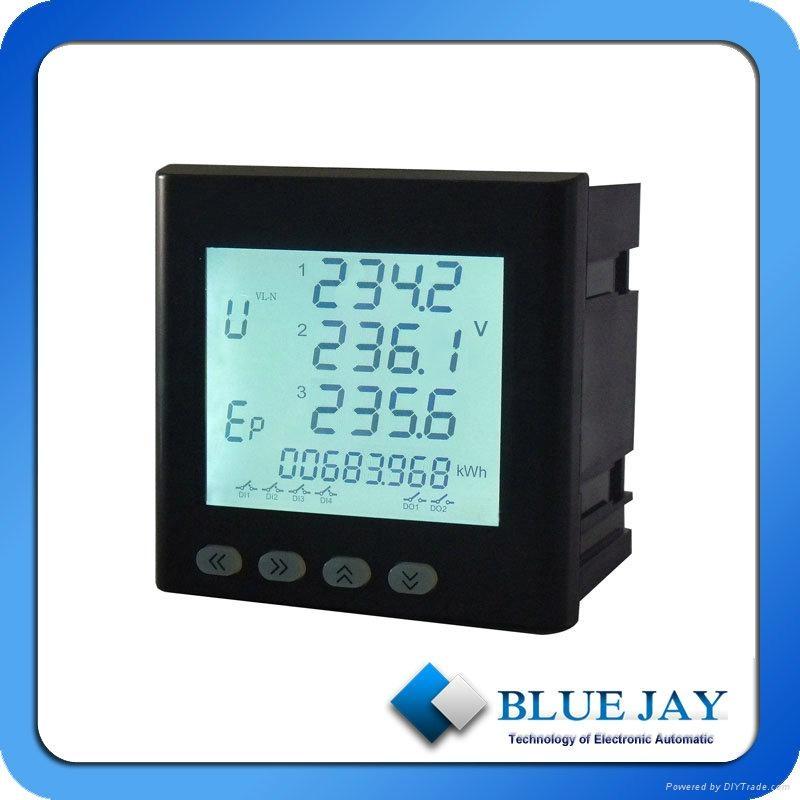 Industrial Energy Meters : Industrial power meter zigbee ethernet