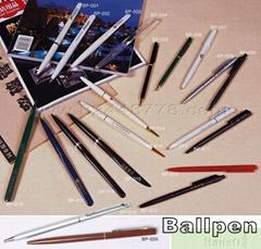 Hotel room ball pen