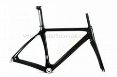 2013 New design DI2 carbon fiber road bike frame