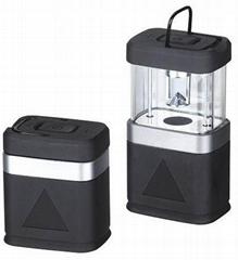 Pack away camping lantern