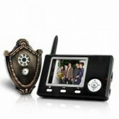 Wireless Video Door Phone + Automatic Door Opener