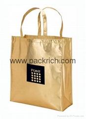 Fashion laminated non woven shopping bag