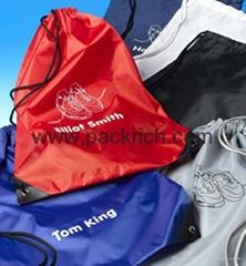 Fashion Nylon Drawstring Bags