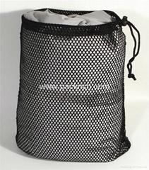 Promotional Black Nylon Mesh Laundry Bag