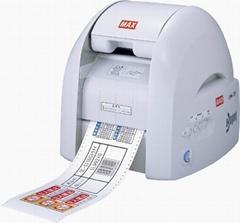 MAX彩貼機色帶貼紙