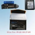 C8 CREE Q5 aluminum flashlight 3