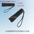 plastic flashlight with ZOOM funcation 1