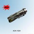 CREE Q3 MINI flashlight with ZOOM