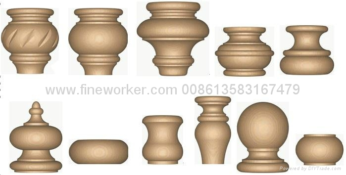 Cnc Wood Turning Lathe Fine China Other Industrial