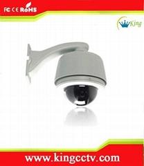 支持远程访问480线网络智能高速球监控摄像头