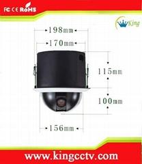 480线嵌入式经济型智能高速球监控摄像头
