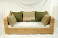 Three simple style rattan sofa