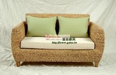 海草个性风格二人沙发
