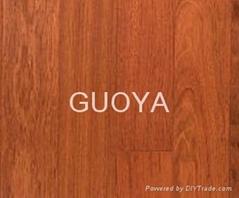 GUOYA click engineered hardwood exotic flooring-Jatoba