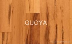 GUOYA click engineered hardwood flooring-tigerwood