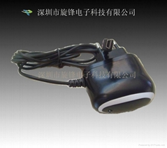 Black and white Blackberry Travel Charger