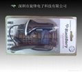 Black and white Car Charger for BlackBerry  2