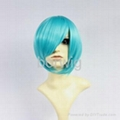 Bobo Short Sky Blue Cosplay Wig