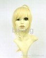 FATE ZERO Saber Cosplay Wig Synthetic