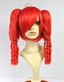 VOCALOID TETO Red Cosplay Wig Synthetic