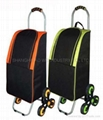 Folding shopping trolley OW-383SB(S-6DPVC)