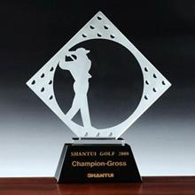 新款设计高尔夫球体育运动活动比赛净杆冠军奖牌