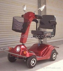 Electric mobility scooter