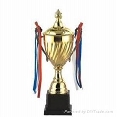 Student metal trophy