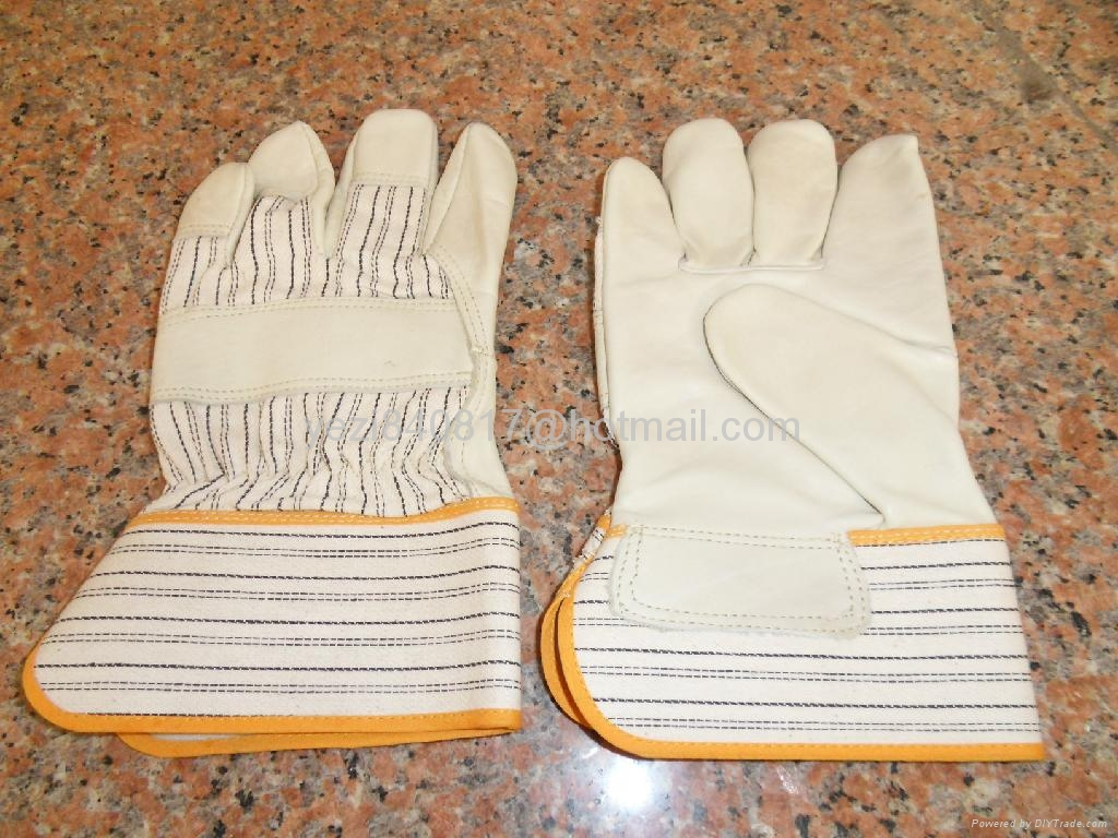 leather working gloves  3