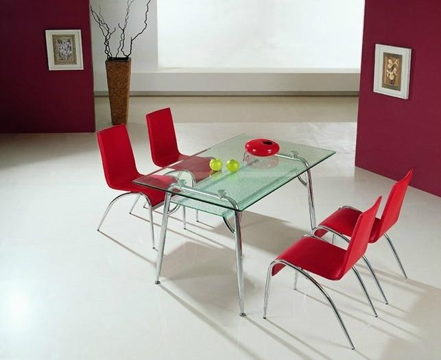 glass table and chair 1