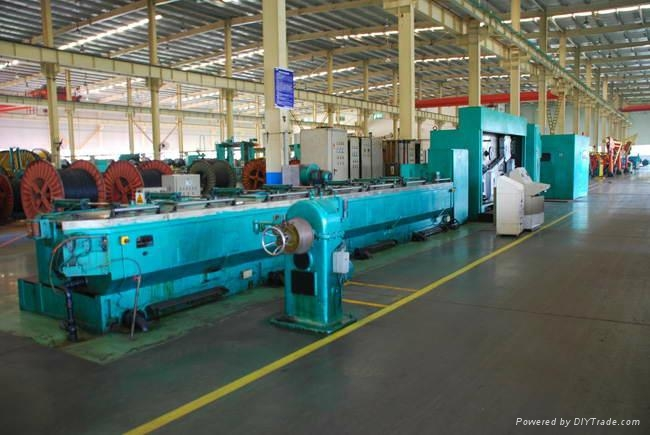 Copper Wire Drawing Machine - LHD-450/13T - DDDG (China ...