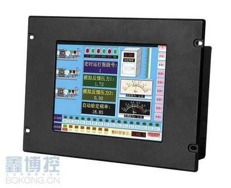 前面開孔固定12.1寸工業一體化平板電腦可擴展PCI卡 1