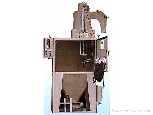 巨臣JC-1000SA昇降圓盤式自動噴砂機 1