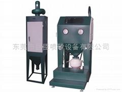 巨臣JC-900P壓力密閉回收式噴砂機