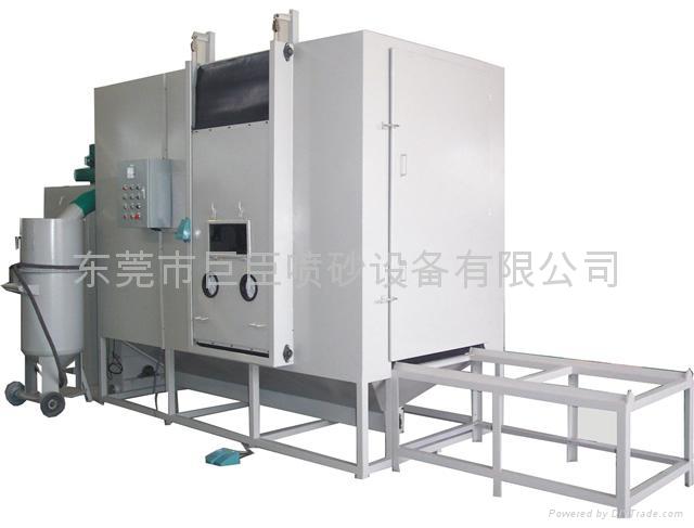 巨臣JC-4500DP自動回收加壓密閉式噴砂機 1