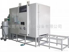 巨臣JC-4500DP自動回收加壓密閉式噴砂機