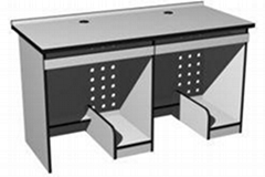 长沙地区供应双人双机电脑桌