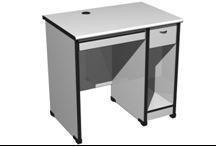 长沙地区供应单人电脑桌