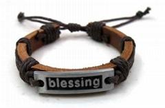 2011 fashion leather bracelet